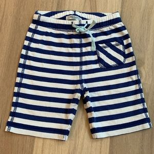 Mini Boden Boys 12-18 Month Shorts Baggies Striped